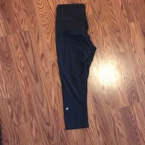 Lululemon fast and free crop running leggings